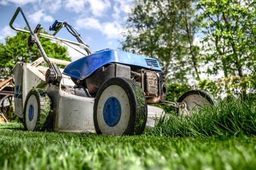 college lawnmower parent