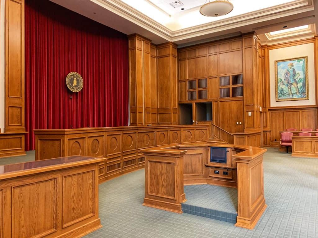 empty court image