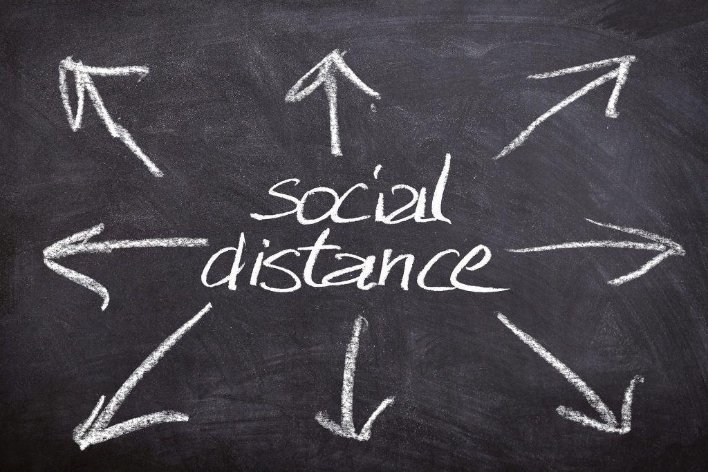 college social distancing