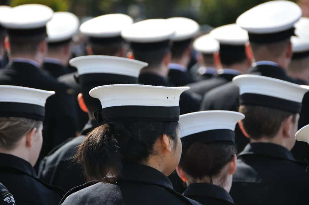 college ROTC cadets